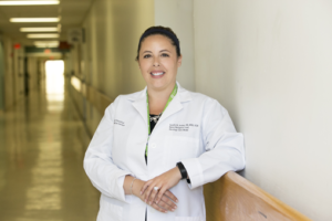Nurse Sandra Areias, Lahey Cancer Institute