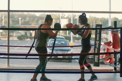 Ariana boxing