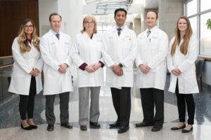 Thoracic Surgery Team at Lahey