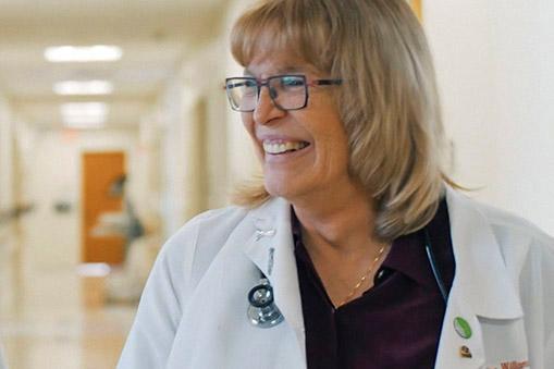 Lahey surgeon Dr. Williamson smiling