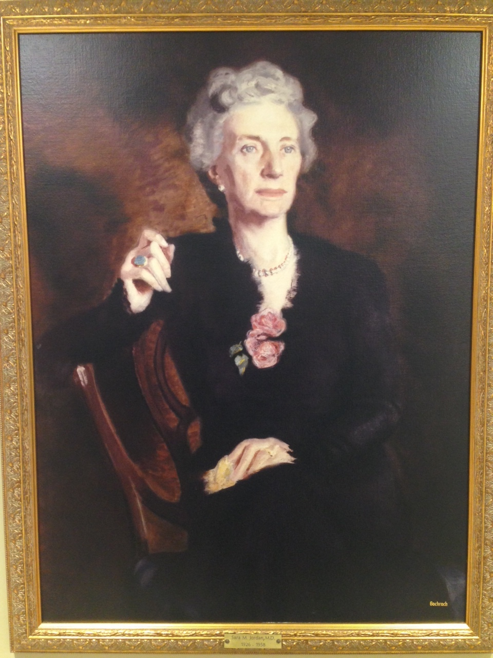 Dr. Sara Murray Jordan, founding member of Lahey Clinic and the first female president of the American Gastroenterological Association
