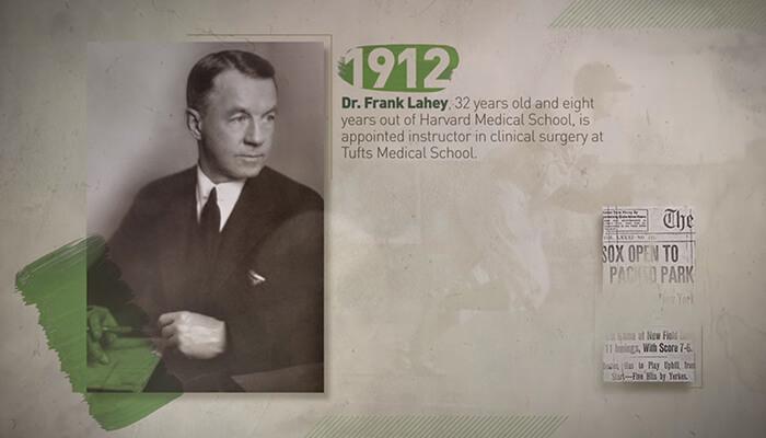 Lahey founder, Dr. Frank Lahey
