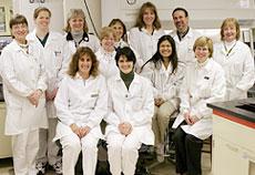 Microbiology Lab Staff