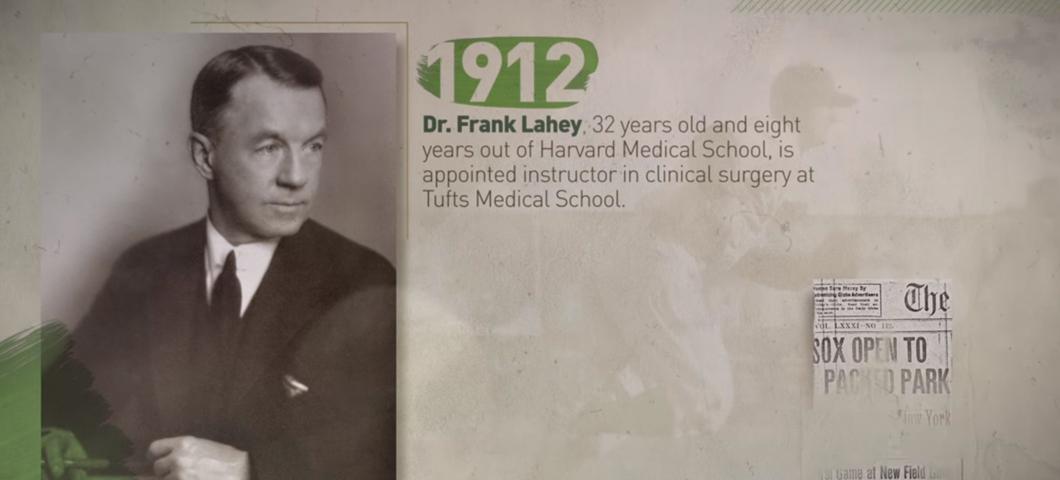 Lahey Clinic Founder, Dr. Frank Lahey