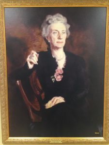 Oil Portrait of Dr. Sara Murray Jordan, one of the original doctors at Lahey Clinic